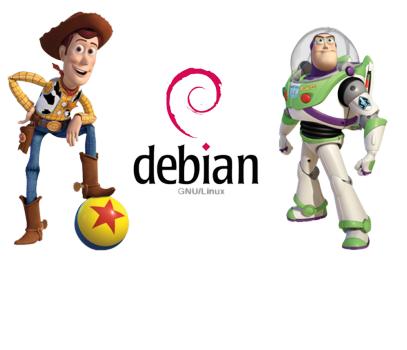Debian y Toy Story