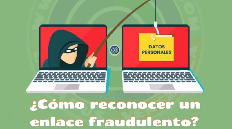 ¿Cómo reconocer un enlace fraudulento?